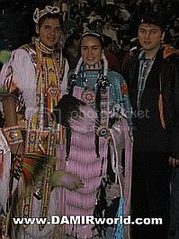 DamirWorld At A Pow Wow For Spiritual Recovery