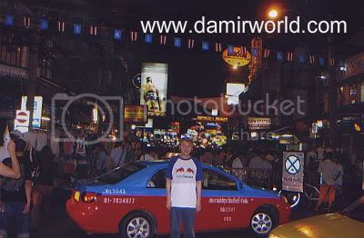DamirWorld In Thailand Khao San Road Nite Life