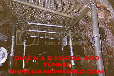 DamirWorld In the 3rd Tunnel At the DMZ Korea